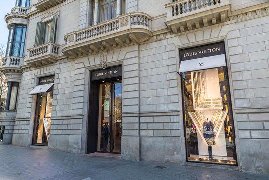 Louis Vuitton, Barcelona