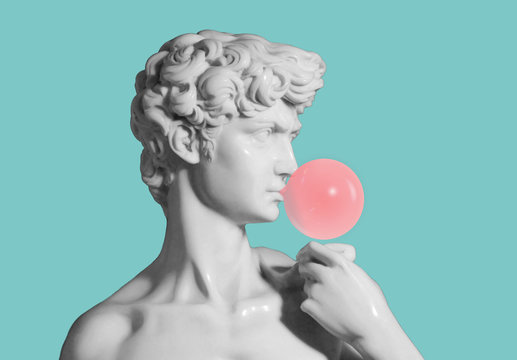 david sculpture medium shot