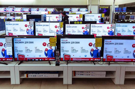 M-video, russian mass market electronic store