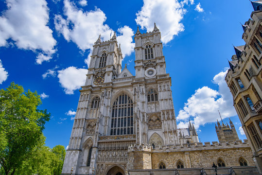 Westminster Abbey, the most famous church in London, England