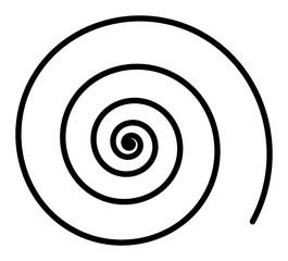 Foto op Plexiglas Spiraal Spirale