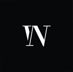 Professional Innovative Initial WN NW logo. Letter WN NW Minimal elegant Monogram. Premium Business Artistic Alphabet symbol and sign