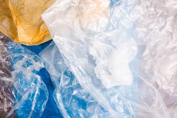Closeup Plastic Bag