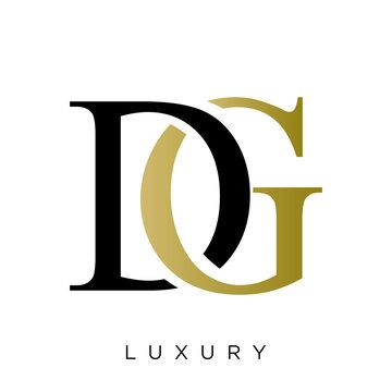dg logo design vector