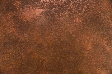 Garden Poster Concrete Wallpaper Coarse rust appearance on metal