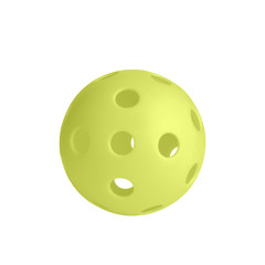 Single yellow pickball
