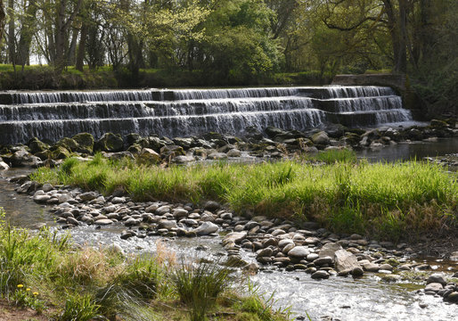 Cascade rivière Carbonne 31 France