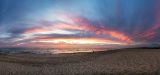 todos santos mexico beach sunset