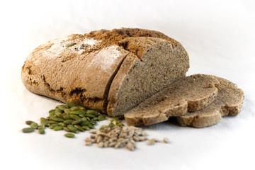 Tuinposter koffiebar Pan hecho con harina integral