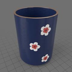 Japanese tall teacup