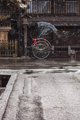 Foto op Plexiglas Fiets 200218さんまちM006
