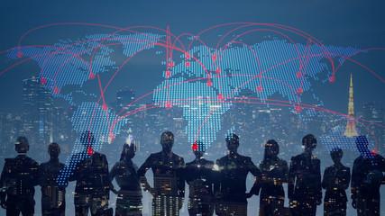 グローバルネットワーク  Fotomurales