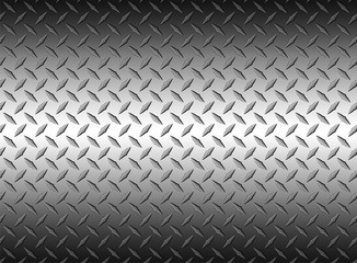 The diamond steel metal sheet texture background