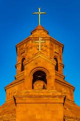 Wall Mural - Cathedral Of The Holy Martyrs bell tower Gyumri Shirak Armenia landmark