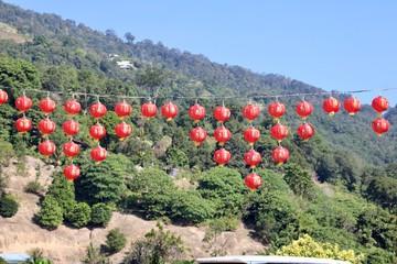 Spoed Foto op Canvas Olijf Kek Lok Si Temple
