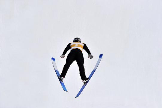 Winter Sport Ski Jump Jumping