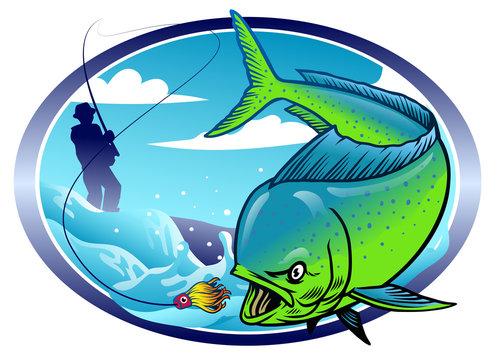 design of mahi mahi fishing
