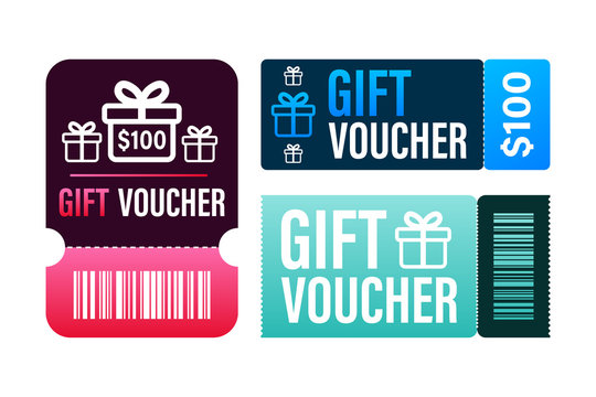 Promo code. Vector Gift Voucher with Coupon Code. Premium eGift Card Background for E-commerce, Online Shopping. Marketing. Vector stock illustration.