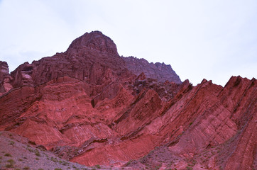 Photo sur Toile Grenat Tianshan Grand Canyon, Xinjiang