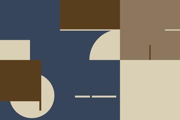Mid-Century Abstract Vector Pattern Design