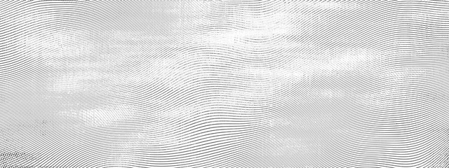 Halftone engraving grunge line art.