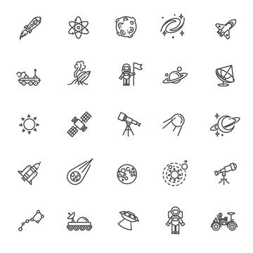 Astronomy, Astrology and Space icons