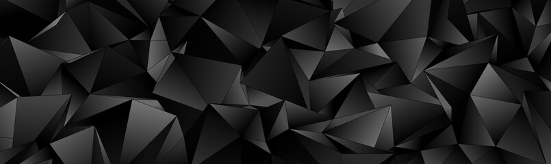 3d Triangles, abstract  background. Design wallpaper. Papier Peint