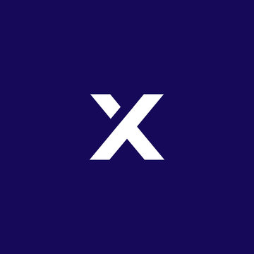 x logo, simple and clean x logo designs isolated on dark background