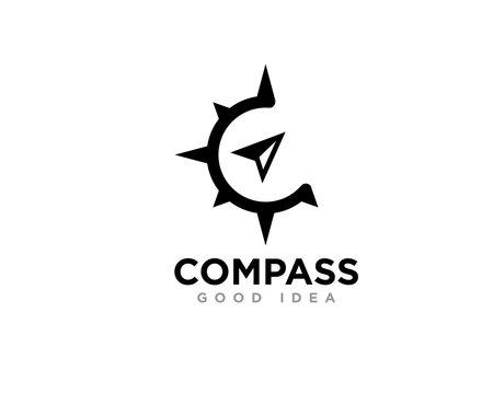 Compass Logo Icon Design Vector