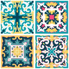 Fototapeten Buntglasfenster Background vintage flower. Seamless floral pattern. Abstract wallpaper. Texture royal vector. Fabric illustration.