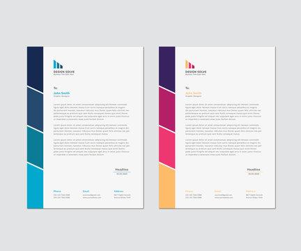 Letterhead Corporate Business Template Design
