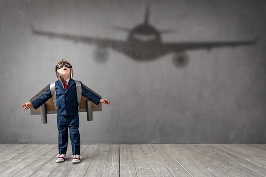 Child dreams of becoming a pilot