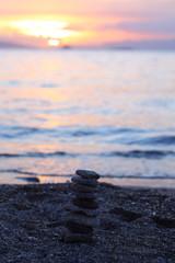 Foto auf AluDibond Nordsee Seaside town of Bodrum and spectacular sunsets. Mugla, Turkey