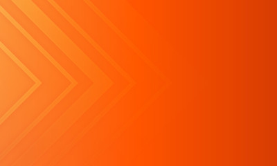 Abstract minimal orange background with geometric creative and minimal gradient concepts, for posters, banners, landing page concept image