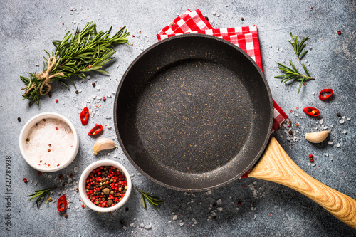 Food Cooking Background On Kitchen Table Top View Wall Mural Wallpaper Murals Nadianb