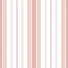 Seamless stripes pattern in pink and white. Abstract vertical lines for summer, autumn, winter dress, bed sheet, duvet cover, trousers, or other modern fashion or home fabric print.