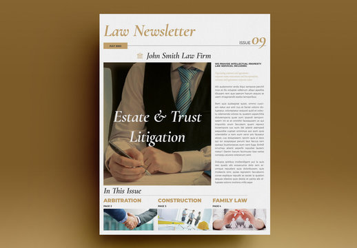 Law Newsletter Layout