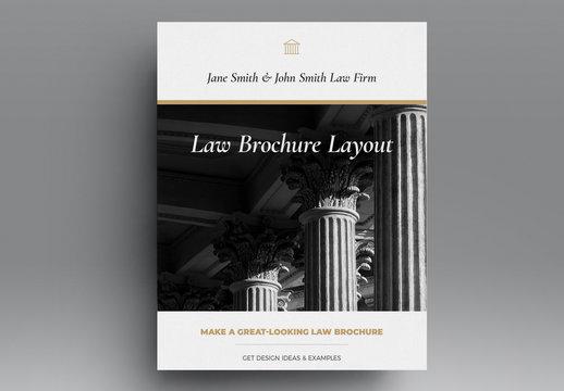 Law Brochure Layout
