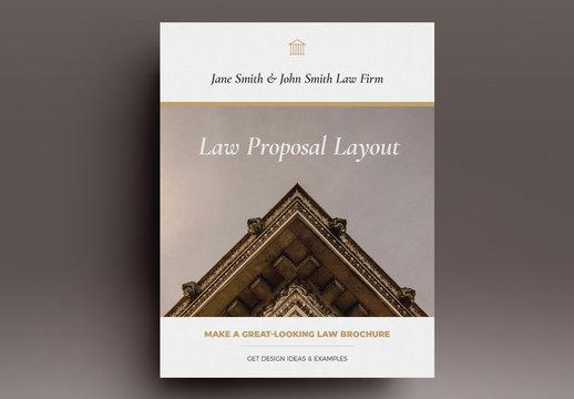 Law Proposal Layout