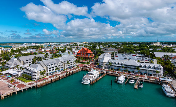 Port of Key West, Florida, USA