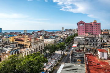 Canvas Prints Havana Havana Cuba Skyline