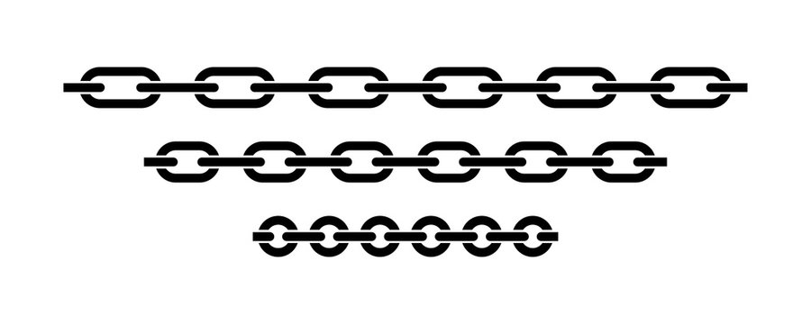Chain icon vector isolated. Vector connection concept. Chain solid icon. Set of chain vector signs or symbols.