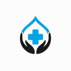 Blood care logo