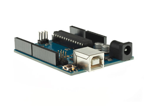 Arduino Uno is a very popular development board for makers and STEM education