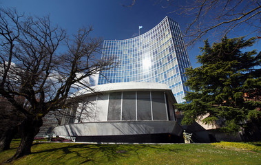 The headquarter of the WIPO is pictured in Geneva