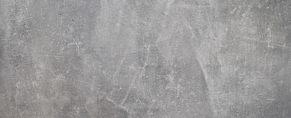 Gray rustic bright concrete stone cement texture background banner panorama Fotobehang