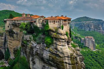 Obraz Monasteries of Meteora, Greece - fototapety do salonu