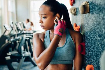 Portrait of fitness trainer