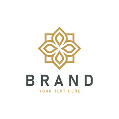 Abstract premium luxury logo design