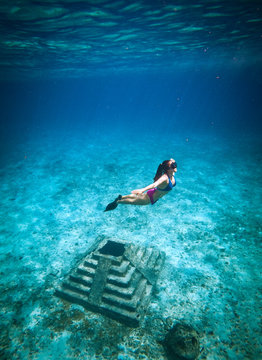 Chichen bajo el mar